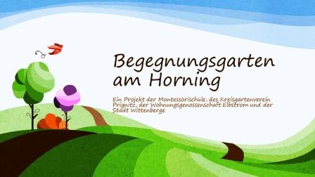 Begegnungsgarten am Horning